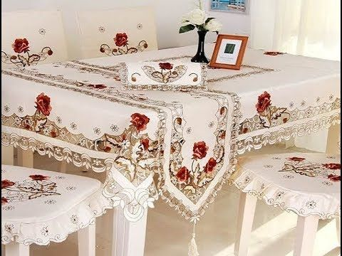 اجمل موديلات مفارش السفره المودرن مفرش سفره تركي مفارش طاولاتاغطية كراسى السفره اشكال جنان Youtube Lace Tablecloth Wedding Table Cloth Lace Table