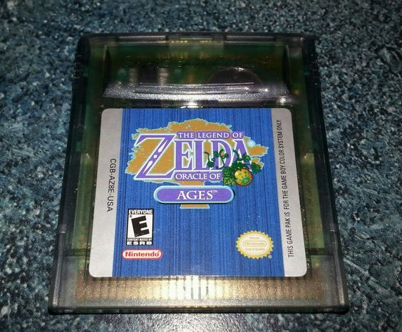 ZELDA Oracle of Ages NINTENDO GAMEBOY ADVANCE Color GAME BOY  0 99     ZELDA Oracle of Ages NINTENDO GAMEBOY ADVANCE Color GAME BOY  0 99 Starting  Bid    NO RESERVE Ebay Auctions  0 99 Starting Bids    Pinterest   Game boy