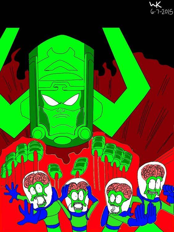 Mars attacks! No wait, Galactus attacks!