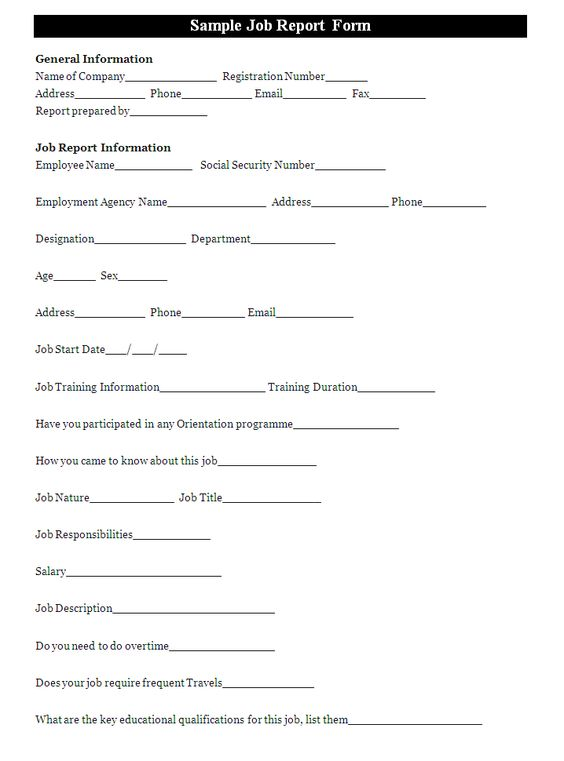 A job accident report form is filled to report an incident during - employee advance form