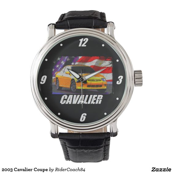 2003 Cavalier Coupe Wristwatches