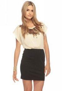 Sequin Burst Combo Dress | FOREVER 21 - 2000028159