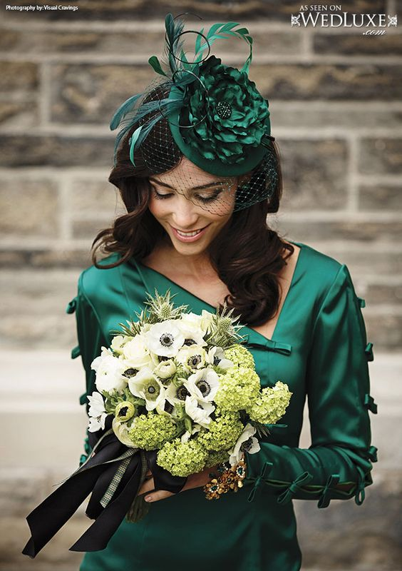 Glitterati Style File: My Fair Scotland | WedLuxe Magazine by Blair Nadeau #millinery #judithm #hats
