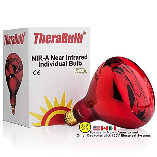 One Of The Best Heat Lamps For Plants In Winter Therabulb Nir A Near Infrared Bulb Bulb Heat Lamps Red Light Bulbs