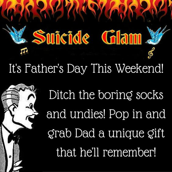 Fathers Day Gifts - Suicide Glam Australia