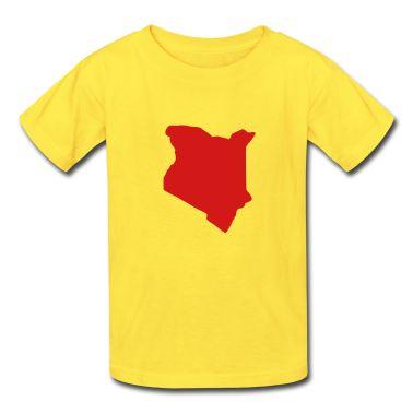 classic Kenya tshirt design