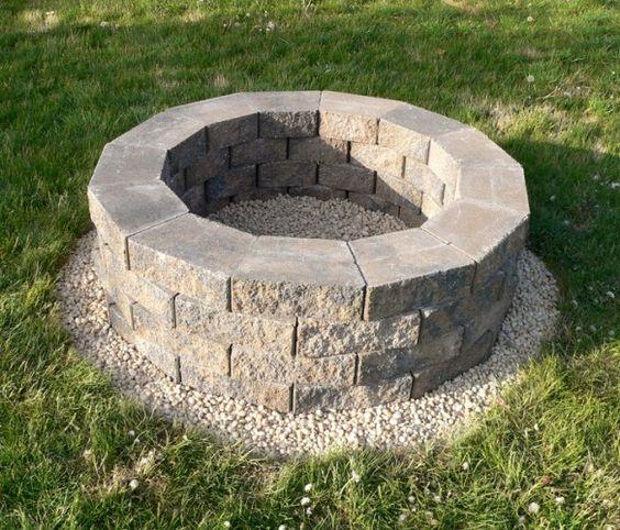 Fire Pit: Backyard Ideas, Firepit 07, Backyard Fire Pits, Firepits, Diy Project, House Idea, Diy Firepit, Pit Idea