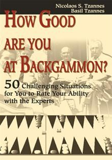 If you already play backgammon, don't you sometimes wonder how good you really are? Well, this book is your chance to really find out.    The 50 situations presented here, cover most of the aspects of the game, from initial moves to bearing off strategies. Each problem is graded on the basis of 5 points for the optimum play and some partial credit for sub-optimum but adequate ones, if such exist.