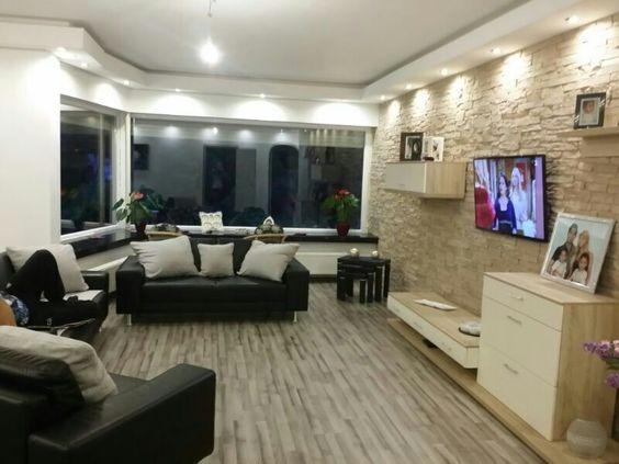 Wandverkleidung, Verblendsteine,,Kaminverkleidung,Verblender - verblendsteine wohnzimmer grau