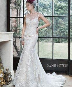 Noelle - Maggie Sottero Fall 2015  New to Raffaele Ciuca Bridal - Australia's largest bridal retailer. www.raffaeleciuca.com.au