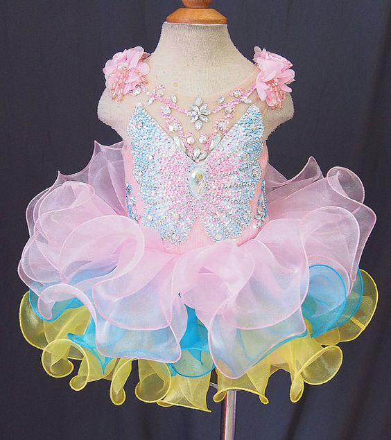 Infant/toddler/baby/children/kids Girl's Pageant evening/prom Dress/clothing/gown for birthday,wedding,bridal,gift,party, 1~4T G101 on Etsy, $115.53 AUD