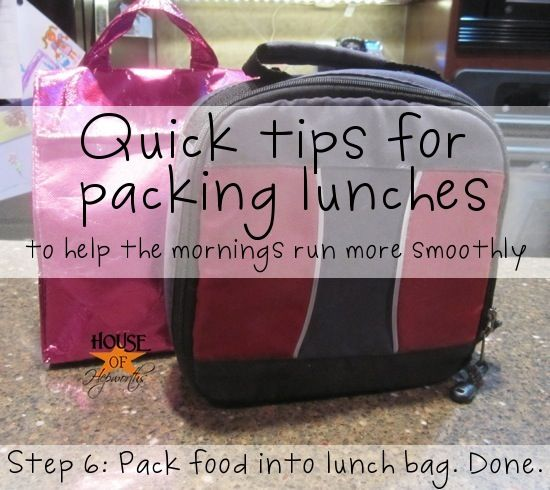 Easily make school lunches each morning. As a bonus, she gives lots of gluten-free tips #school #organizing #glutenfree #lunch