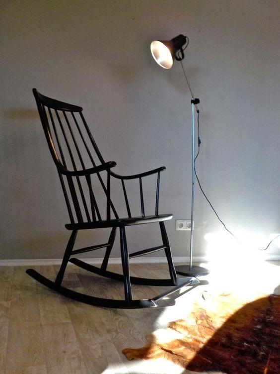 neu: klassischer Rockingchair in Schwarz! #rockingchair ...