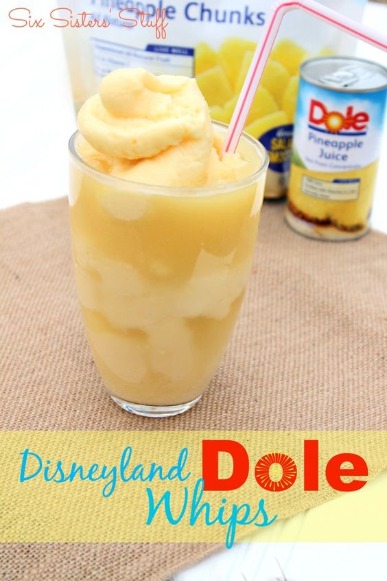 Disneyland Dole Whips | Recipe | Disney, Dole pineapple ...
