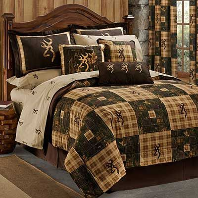 Cabin Decor - Bedding Do you love camo? So do we! Enjoy this complete bed set! Don't want the complete set? Click on the below items to purchase individually. - (1) Comforter Set - (1) Comforter, (1)