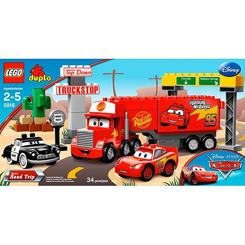 lightning mcqueen mack truck lego instructions