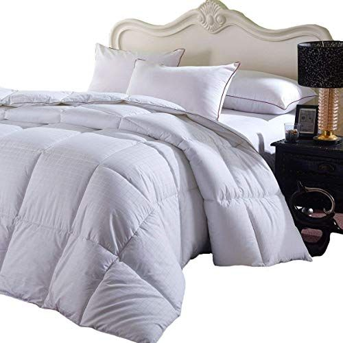 Royal Hotel Soft And Fluffy Overfilled Dobby Down Alternative Comforter Fullqueen Size Checkered White 100 Cot Comforters Down Comforter Bedding Blue Comforter