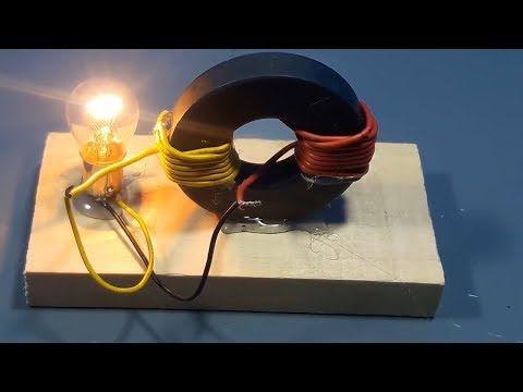 Membuat Listrik Gratis Dari Magnet Idekreatif Youtube Dengan
