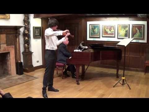 Extracto del concierto de Ignacio Rodríguez el 15-11-2014 en el Museo Evaristo Valle de Gijón.  Ignacio Rodríguez - Scherzo en C minor -J. Brahms