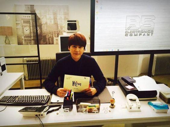 SJ圭賢中秋沒有假期,凌晨就出門工作了!