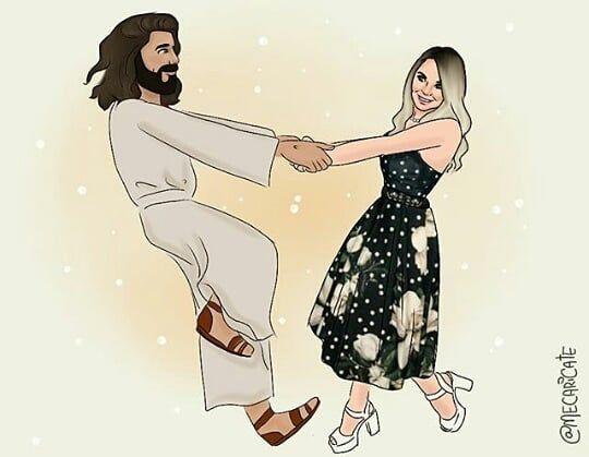 A Imagem Pode Conter 2 Pessoas Menina De Deus Amor De Deus