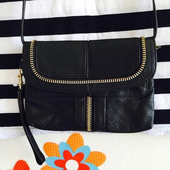 MAKOWSKY black clutch Good condition. Bags Clutches & Wristlets