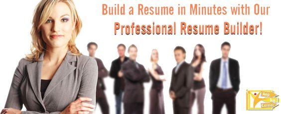 Professional Resume Builder    googl 0CGFZv AapKa career - professional resume builders