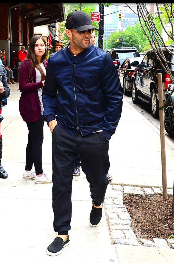 Jason Statham  Acne jacket