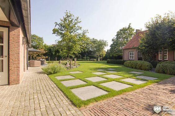 Landelijke tuin met stoer paviljoen | Van Mierlo Tuinen
