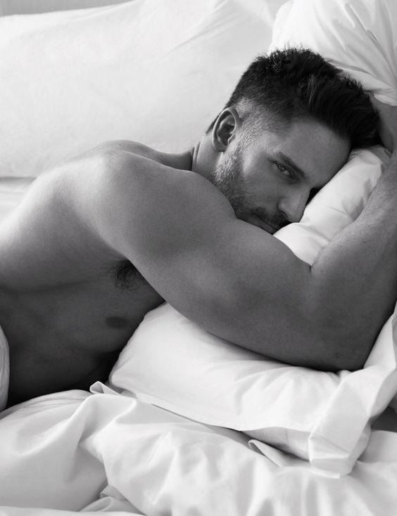 Pillow Tweets - Joe Manganiello photographed by Mert Alas and Marcus Piggott; W Magazine March 2014.