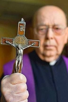 Father Gabriel Amorth Exorcist of ROME. Whenever an exorcism is needed, everybody always calls a Catholic priest.