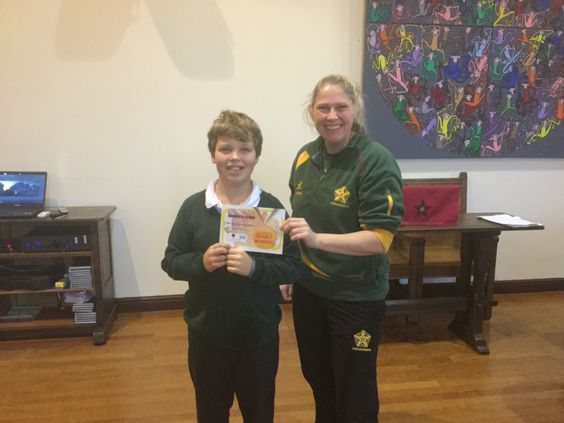 Ted receives special recognition award for competing in the vertical jump at a high standard #abbotsholmeschool #verticaljump #sport #prep