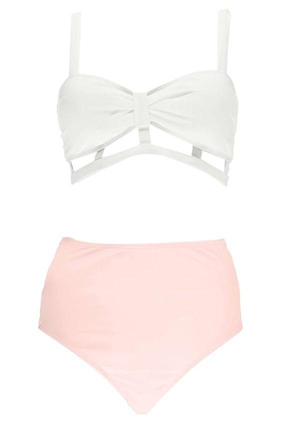 Best High Waisted Swimsuits - Our Favorite High Waisted Bikinis | Teen Vogue