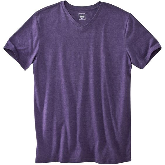 Mossimo Supply Co. Men's V-Neck T-Shirt ($9.99) ❤ liked on Polyvore featuring mens, men's clothing, men's shirts and men's t-shirts