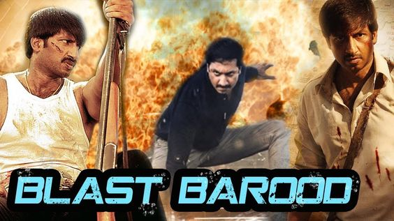 hindi dubbed movies of gopichand - blast barood