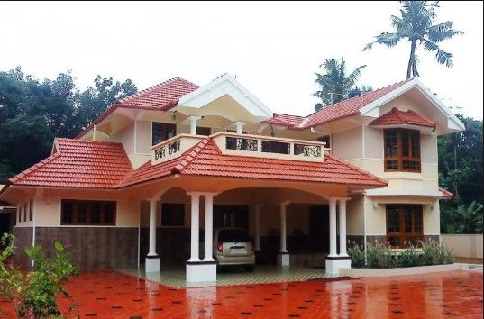 Traditional Kerala Style House Designs Kerala House Design Bungalow House Plans Bungalow Style House