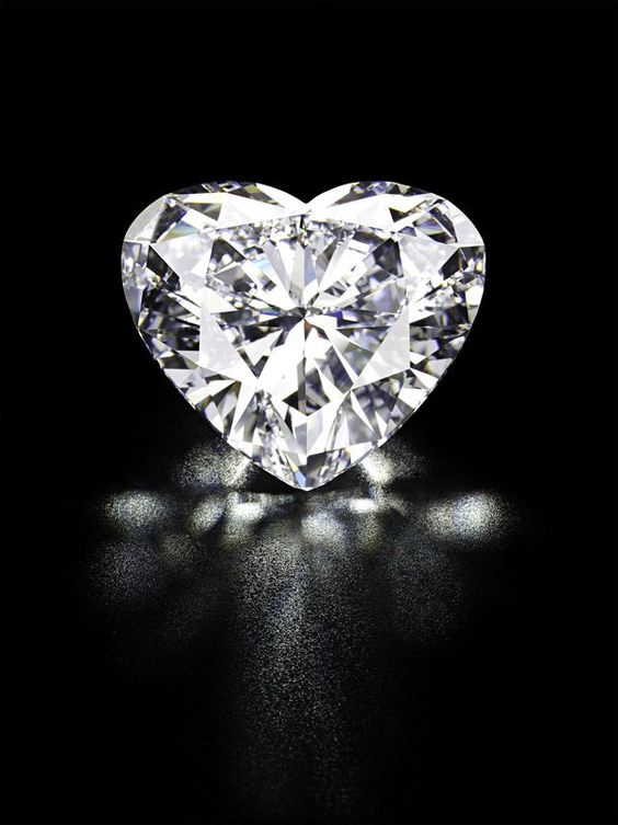 Magnificence. An unmounted  heart-shaped D colour, Internally Flawless, Type IIa diamond weighing 56.15 carats, with excellent polish and symmetry.