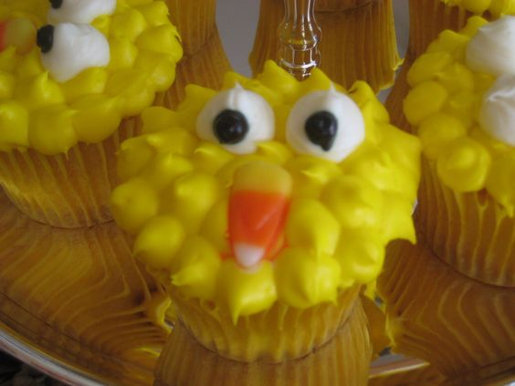 Big Bird... Snack for big birds birthday at preschool!!
