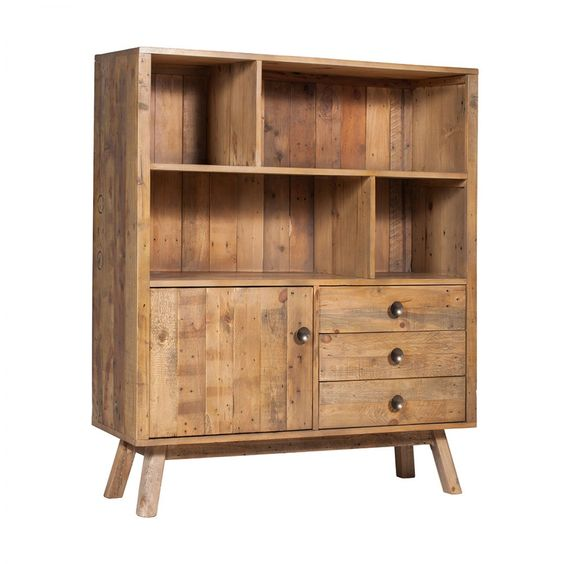 Rustica Shelving Unit - Bookcases & Shelving - Home Office & Storage