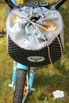"Fahrradtasche ""drive&carry"" (Größe MEDIUM) - Schnittmuster und Nähanleitungen bei Makerist"