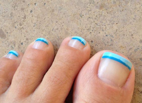 spring toes ...cute! <3