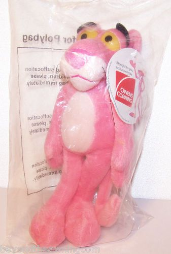 PINK PANTHER Collectible PLUSH Exclusive Owens Corning Sealed in Bag w/ Tag #eBay