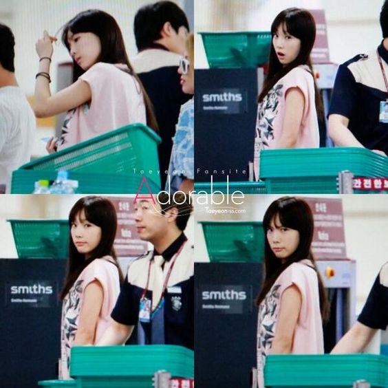 SNSD Taeyeon airport 140618
