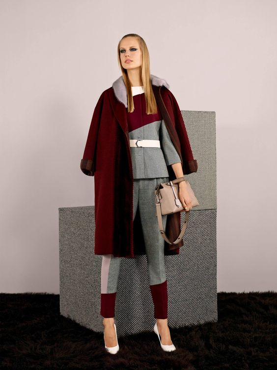 Fendi's Pre Fall 2014-15 Collection - Look 8