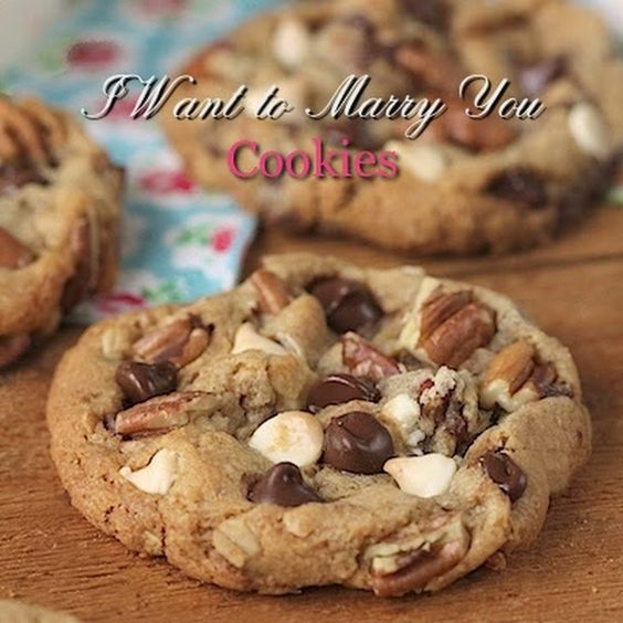 I Want to Marry You Cookies