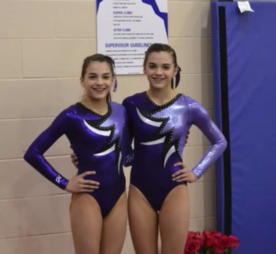 Jacobs Gymnastics Megan And Ciera