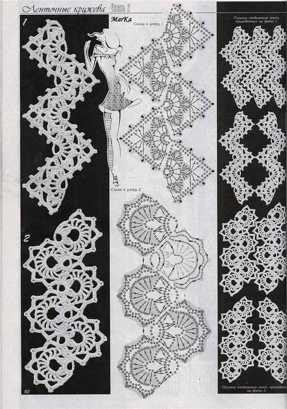 Muster Kettenmuster häkeln - crochet pattern | Häkeln Kettenmuster ...