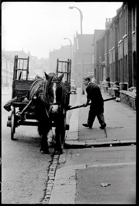 Colin O'Brien's London Life... Rag  Bone Man, 1959