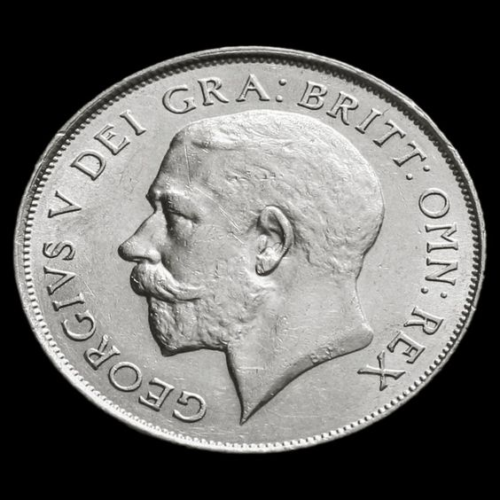 1923 George V Silver Shilling - EF