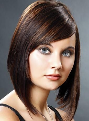 Magnificent Long Bob Hairstyles Bob Hairstyles And Bob Cuts On Pinterest Hairstyles For Women Draintrainus